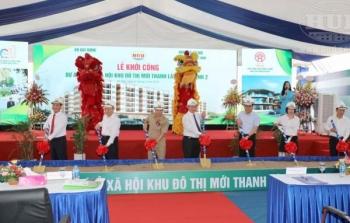 Tổng công ty HUD khởi công dự án NƠXH quy mô 1.030 căn hộ tại KĐTM Thanh Lâm – Đại Thịnh 2