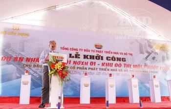 Tổng công ty HUD: Khởi công Dự án đầu tư xây dựng 664 căn hộ nhà ở xã hội tại thành phố Nha Trang, tỉnh Khánh Hòa