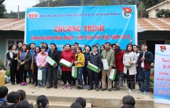 Thanh niên Tổng công ty HUD với Chương trình Tình nguyện mùa Đông - Ấm tình Tây bắc năm 2018