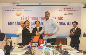 Tổng công ty HUD ký thỏa thuận hợp tác với Công ty DINVAI CONSTRUCCIONES - CUBA