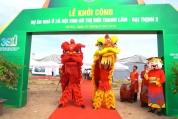 Toàn cảnh Khởi cong dự án Thanh Lâm - Đại Thịnh 2