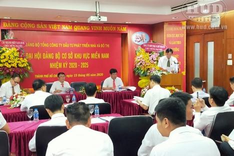 Đảng bộ Công ty HUD4 và Đảng bộ cơ sở Khu vực miền Nam tổ chức Đại hội nhiệm kỳ 2020-2025