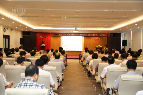 Tổng công ty HUD tổ chức Hội nghị phổ biến pháp luật về Nghị định số 25/2020/NĐ-CP