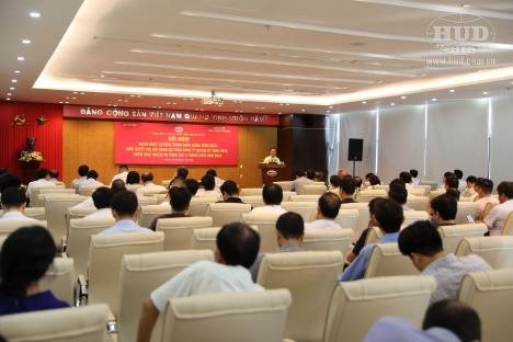 Hội nghị Quán triệt Chương trình hành động thực hiện Nghị quyết Đại hội Đảng bộ Tổng công ty nhiệm kỳ 2020 - 2025 và triển khai nhiệm vụ công tác 6 tháng cuối năm 2020