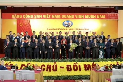 Bí thư Đảng ủy, Chủ tịch HĐTV HUD tiếp tục được bầu vào BCH Đảng bộ Khối DNTW nhiệm kỳ 2020-2025
