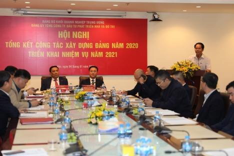 Đảng ủy HUD tổ chức Hội nghị tổng kết công tác xây dựng Đảng năm 2020, triển khai nhiệm vụ năm 2021