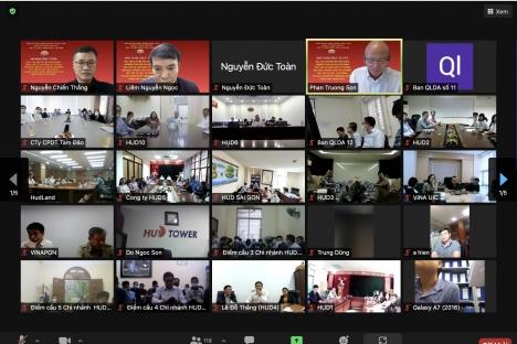 Đảng ủy Tổng công ty HUD tổ chức Hội nghị học tập Chuyên đề toàn khóa nhiệm kỳ đại hội XIII của Đảng